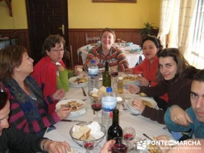 Comida en Sequeros - Sierra de Francia; ruta en madrid; guia senderismo